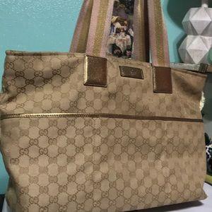 Gucci GG Diaper Shopper Bag